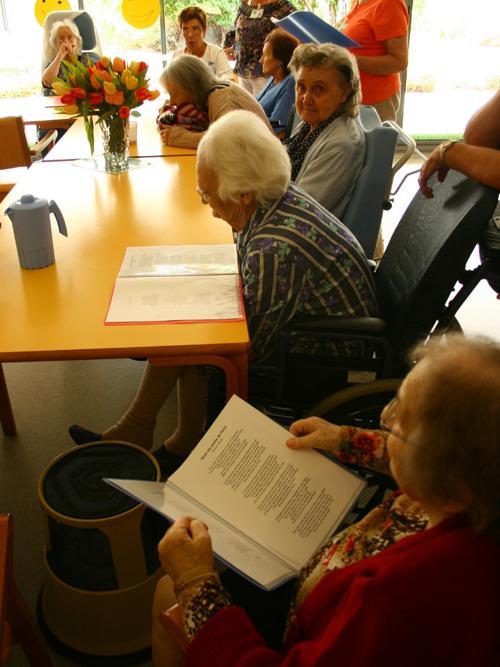 en maison de retraite