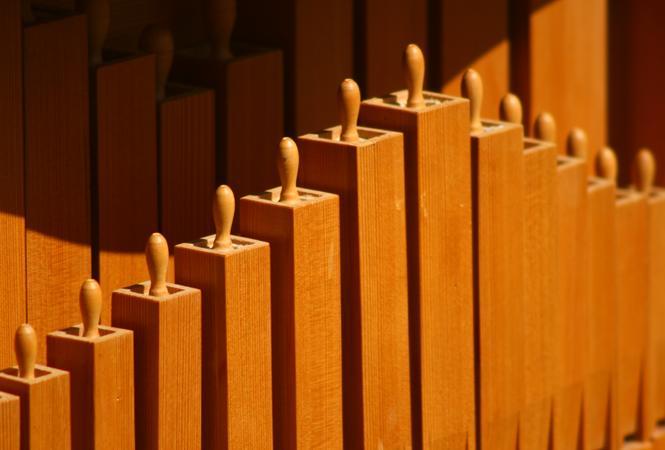 gros plan sur les flûtes