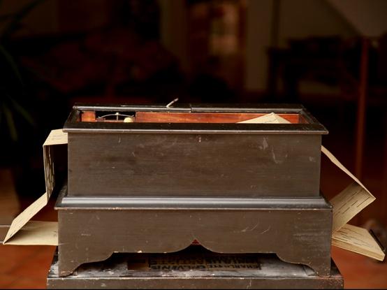 orgue de Barbarie Thibouville-Lamy à anches
