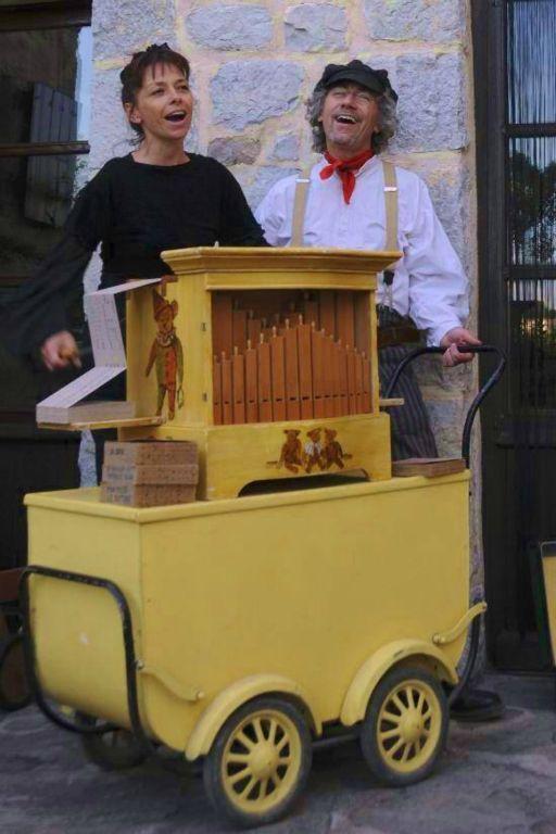 l'orgue de Barbarie pour un anniversaire