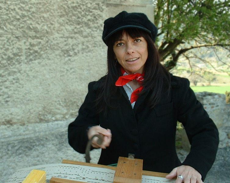 orgue de Barbarie pour une fête de village