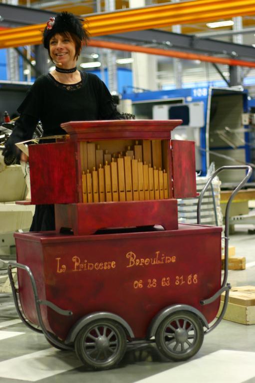 un orgue de Barbarie les 150 ans de l'entreprise