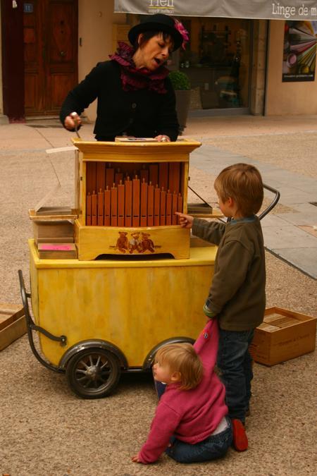 rencontre avec l'orgue de Barbarie
