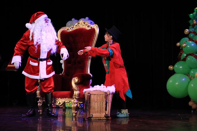 spectacle de Noël destiné aux enfants