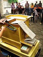 festival d'orgues de Barbarie en Ardèche